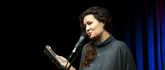 Отчет с поэтического вечера Даны Сидерос