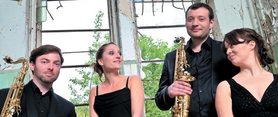 Концерт саксофонного квартета «Sonic.art» (Берлин)