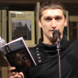 Фотоотчёт с поэтического вечера Полины Синёвой и Родиона Прилепина