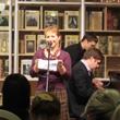 Видеоотчёт с поэтического вечера Полины Синёвой и Родиона Прилепина