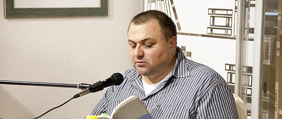 Отчет с поэтического вечера Фёдора Сваровского