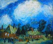 Облака. Евгений Камбалин. 2007. Холст, масло. 50Х60 см