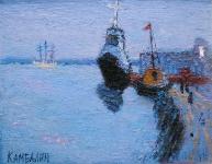 Белая ночь. Евгений Камбалин. 2006. Холст, масло. 39Х48,5 см