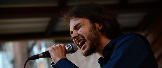 В Третьем воронежском слэме победил поэт и музыкант Даниил Чекрыгин