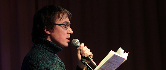 Видеоотчёт с поэтического вечера Дмитрия Воденникова